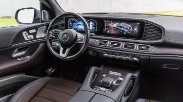 new Mercedes-Benz GLE - dash