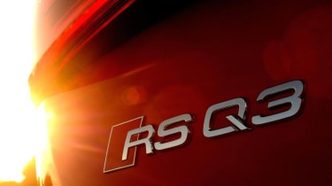 Audi RS Q3 badge