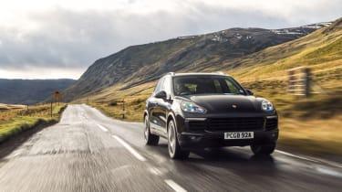Porsche Cayenne S Diesel - Front
