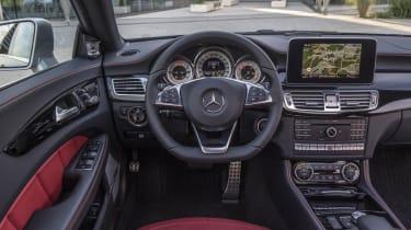 Mercedes CLS63 AMG S interior
