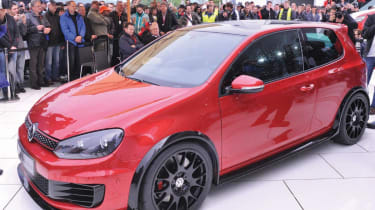 VW Golf GTI Excessive front2