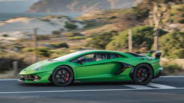 Lamborghini Aventador SVJ side