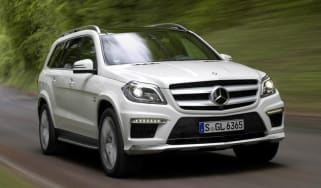 New Mercedes GL63 AMG SUV