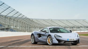 McLaren 570S Track Pack - front three quarter