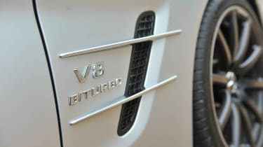2013 Mercedes SL63 AMG V8 Biturbo badge