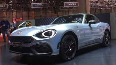 Abarth 124 Spider GT – front quarter