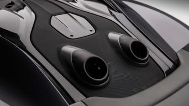 McLaren 600LT MSO - pipes