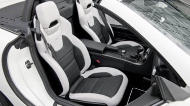 Mercedes-Benz SLK55 AMG seats