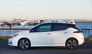 Nissan Leaf drive Japan - profile
