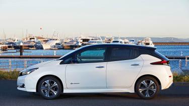 Nissan Leaf drive Japan - profile