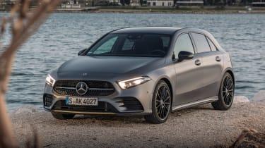 Mercedes A-class - front quarter