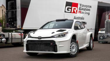 Toyota GR Yaris AP4 - front static