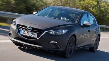 Mazda Skyactive X prototype - front quarter