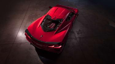 2020 Chevrolet Corvette C8 top
