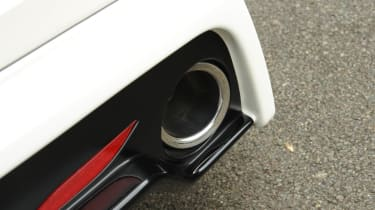 Honda Civic Type-R Mugen 2.2 exhaust pipe