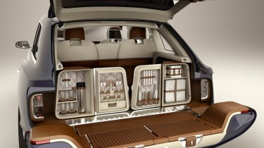 Bentley SUV boot cabinet