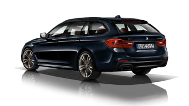 BMW M550d xDrive rear