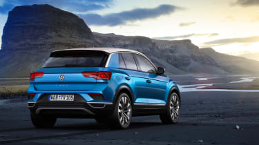 VW T-Roc - Blue rear quarter