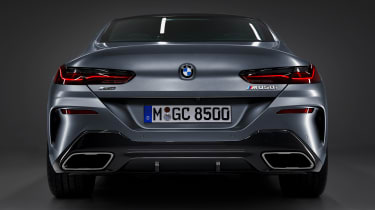 BMW 8-series Gran Coupe rear