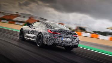 BMW M8 prototype - rear quarter