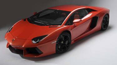 New Lamborghini Aventador LP700-4 supercar