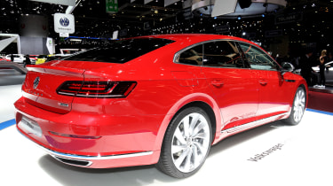 Volkswagen Arteon - Geneva rear three quarter
