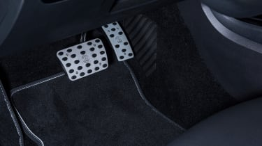 Brabus-tuned A-Class pedals