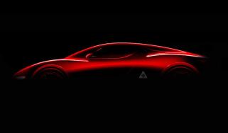 Alfa 8C silhouette