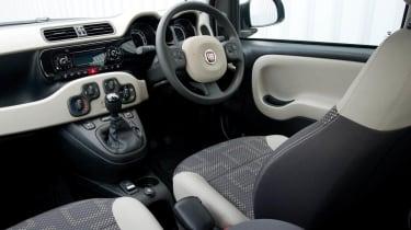 2013 Fiat Panda Trekking interior front seats