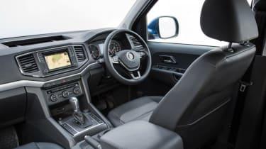 VW Amarok V6 - interior 2
