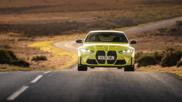 BMW M4 Competition 2021 review – nose road