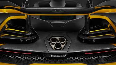 McLaren Senna MSO – rear