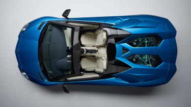 Lamborghini Aventador S Roadster - top