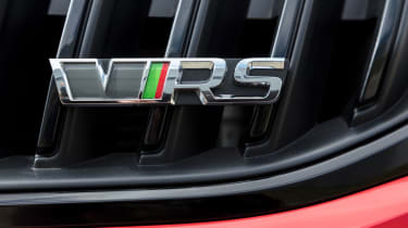 Skoda Octavia vRS - Badge