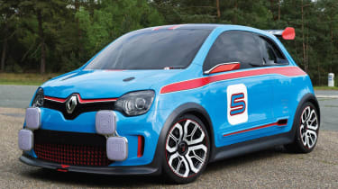 Renault TwinRun RS Twingo concept preview hot hatch