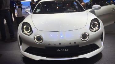 Alpine A110 – front