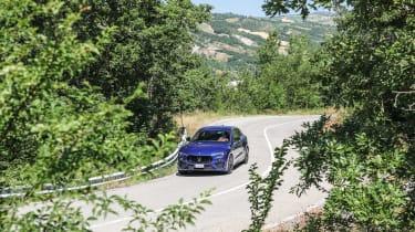 Maserati Levante Trofeo review - front