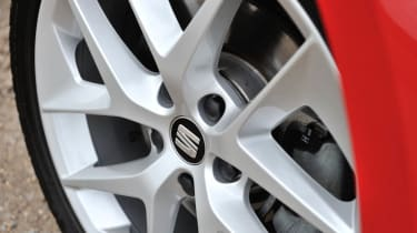2013 SEAT Leon FR TDI 184 alloy wheel