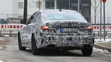 G20 BMW 3-series spy - tail