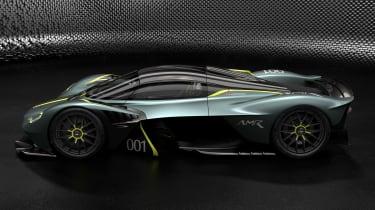 Aston Martin Valkyrie AMR - profile