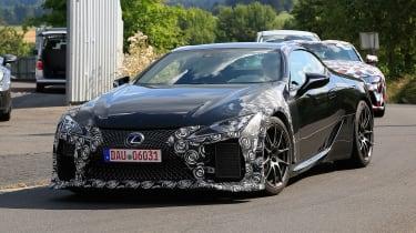 Lexus LC F prototype - front