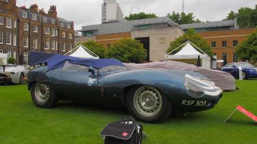 City Concours - Jaguar D-Type