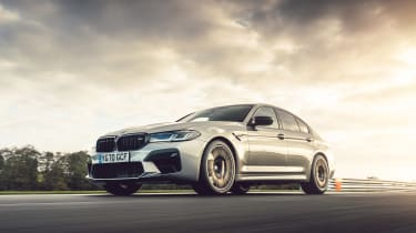 BMW M5 Competition front tracking