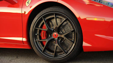 Ferrari 458 twin turbo by Hennessey black 20in forged alloy wheel