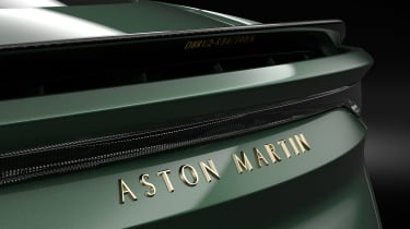 Aston Martin DBS 59 special edition - rear