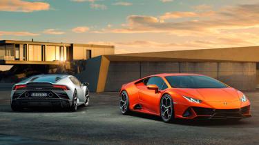 Lamborghini Huracan EVO duo