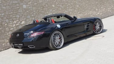 Mercedes SLS AMG Roadster Senner rear view