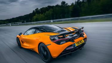 McLaren 720S track pack - rear quarter
