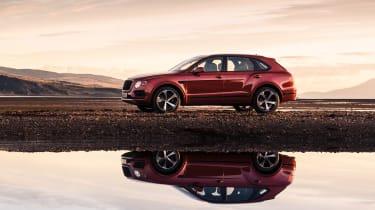 Bentley Bentayga V8 petrol - side