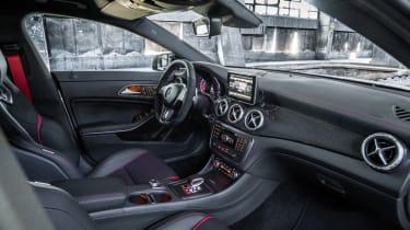 Mercedes CLA45 AMG interior dashboard